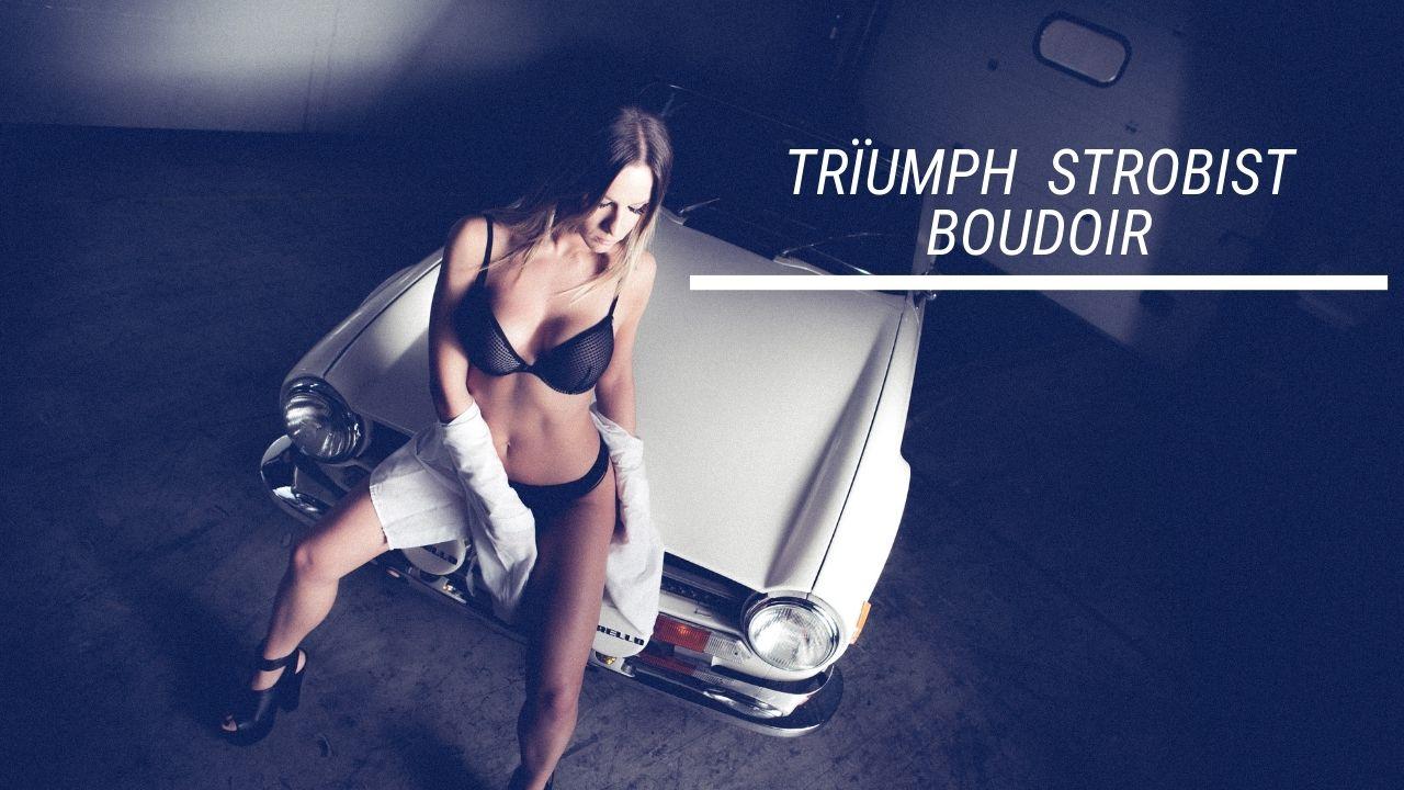Automotive Triumph Boudoir: crea un Ritratto di Impatto dallo Scatto alla Post