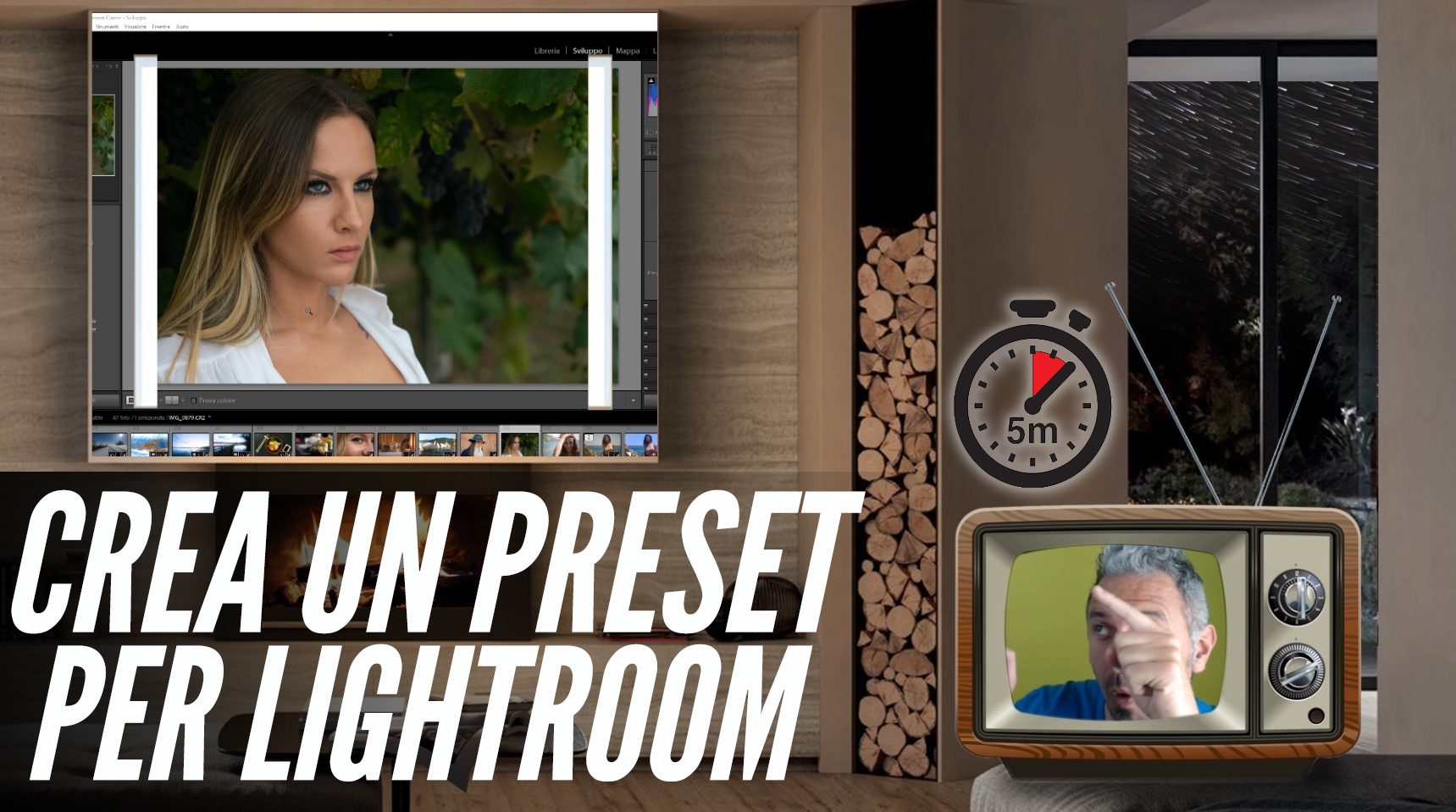 Come Creare un Preset su Lightroom + Bonus 4 Pro Preset