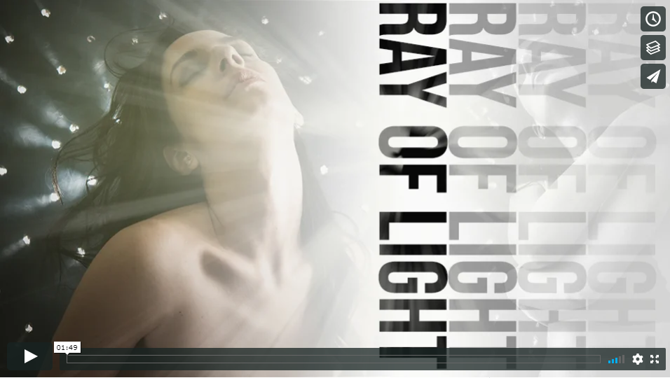 Ray of Light: La Post Produzione